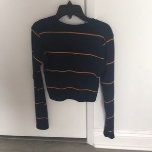Brandy long sleeved top